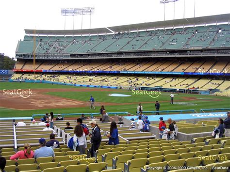 dodger stadium section 31 rs dodger stadium section 29 seat views seatgeek