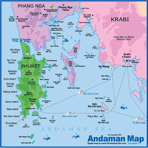 map  southern thailand  photo post