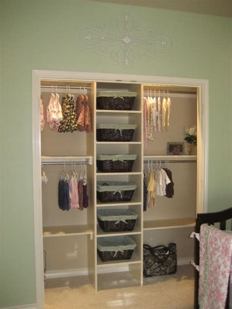 Baby Room In Closet by