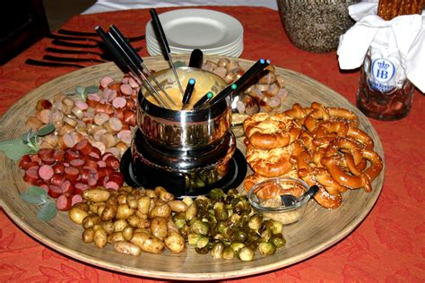 fondue dinner menu fall dinner german fondue platter chatty gourmet