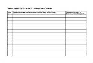 maintenance schedule template equipment maintenance schedule template excel schedule