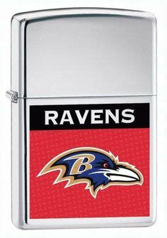 Zippo Nfl Baltimore Ravens lighters flair on cigars smokers and nfl