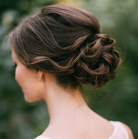 Wedding Hairstyles Low Updo by 20 Low Updo Hair Styles For Brides Mon Cheri Bridals