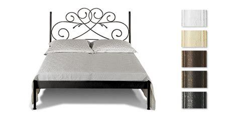 nostalgisches bett doppelbett romantisch z b in braun aus metall amarete