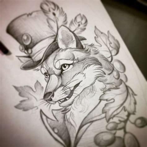tattoo flash fox 58 best fox tattoo images on pinterest fox tattoos