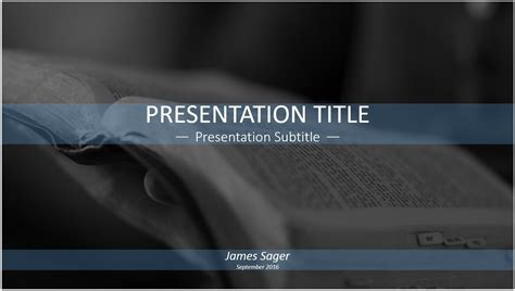 Reading The Bible Powerpoint Template Free Reading The Biblical Powerpoint Templates