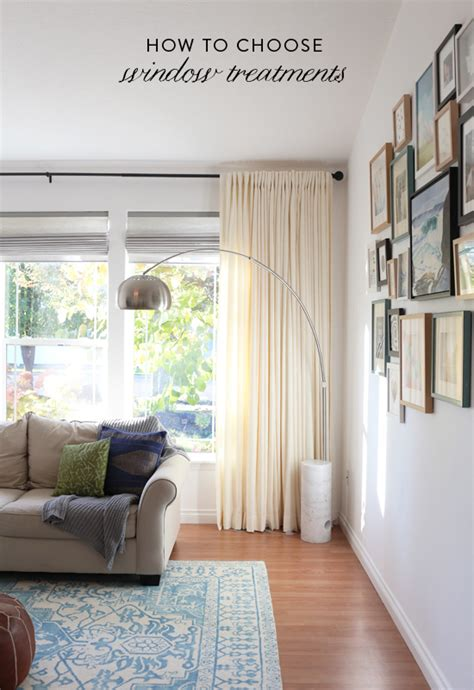 how to choose window treatments for your home at home in