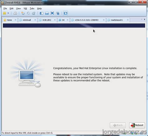 tutorial zimbra 8 instalando zimbra 8 0 6 sobre red hat 6 5 el blog de