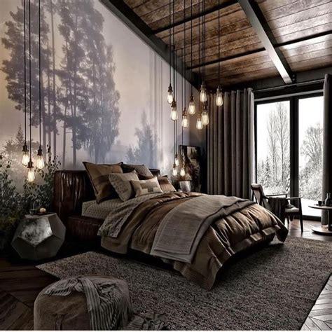home interior design  nature inspired bedroom