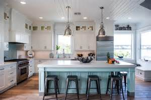 Home Style Kitchen Island Intracoastal Beach Home With Large Kitchen Island With