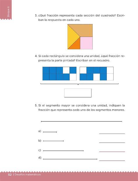 libro de matematicas 4 grado bloqe cuarto pag 125 191 qu 233 fracci 243 n es bloque ii lecci 243 n 28 apoyo primaria