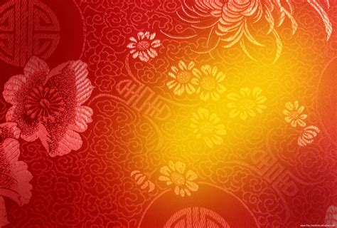 Free red chinese new year background with yellow highlight
