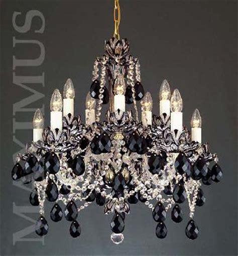 kronleuchter kristall schwarz kristall kronleuchter schwarz 8003 10 02hk 505 40sc40