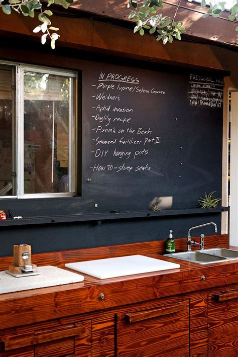 chalkboard paint ideas for bar the chalkboard paint for outdoor entertaining menu on