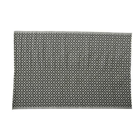 Kamari Polypropylene Outdoor Rug In Black White 180 X Black And White Outdoor Rug