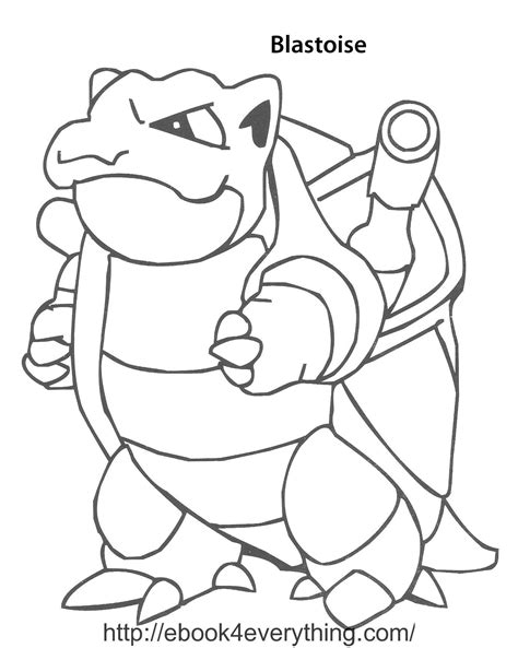 pokemon coloring pages of blastoise mega blastoise ex coloring page az coloring pages