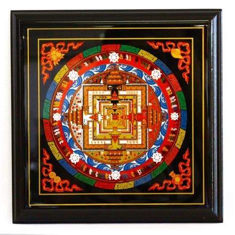 Feng Shui Affiliate Programs by Kalachakra Mandala Plaque Powerful Symbols