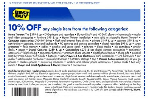 best buy coupon ipod