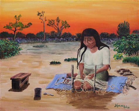 imagenes de niños wichis los wichis cuentan su historia con pinturas en vivo