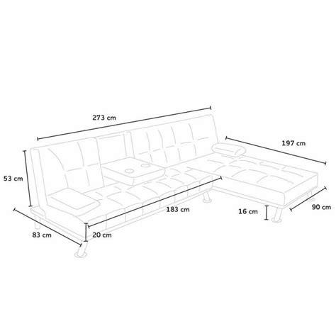 divani ad angolo con letto divano letto angolare con penisola 3 posti per salotto