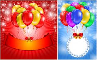 birthday poster template birthday vector graphics
