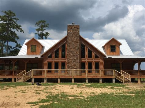 cracker style log homes logs house the top home design