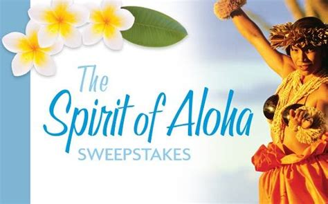 Marriott Vacation Club Sweepstakes - marriott vacation club spirit of aloha sweepstakes sweepstakesbible