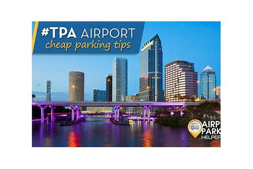 tpa economy parking coupons