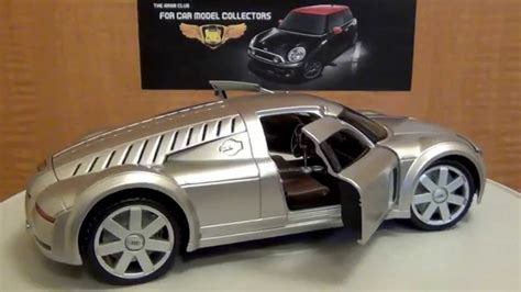 audi rosemeyer audi rosemeyer 1 18 diecast review youtube