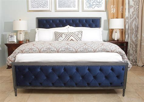 velvet bed chelsea tufted velvet bed