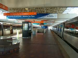 Car Rental Inside Atlanta Airport Airport Marta Station Marta Guide