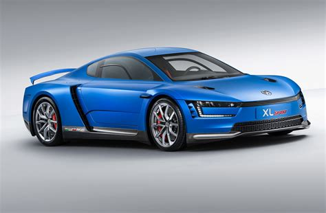new volkswagen sports car volkswagen xl sport concept driver front view 07 photo 12