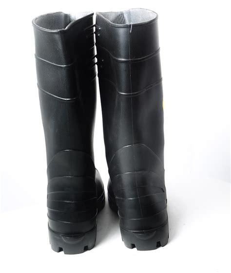 pvc boots 10555 12 happy 16 black pvc boots mens cajun