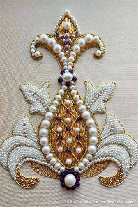 1000 ideas about bead embroidery patterns on
