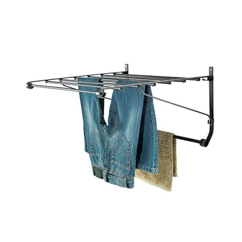 Laundry Drying Rack Wall Mount Ikea by Ikea Wall Drying Rack Laundry Hanger New Ebay