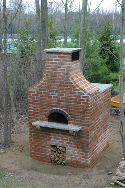 Diy Outside Pizza Oven 16 Pics Backyard Brick Oven Plans
