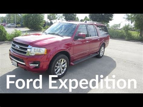 2017 ford expedition limited el suv 3.5l v6 with ecoboost