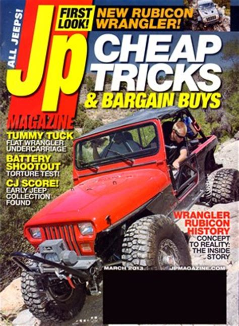 Jeep Magazines Jeep Magazine Covers Date Cover
