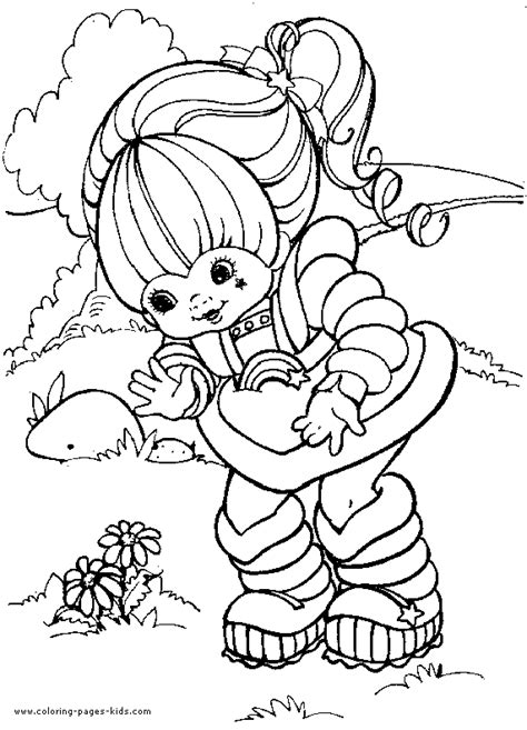 Rainbow Bright Coloring Pages Free 80s Cartoons Coloring Pages by Rainbow Bright Coloring Pages