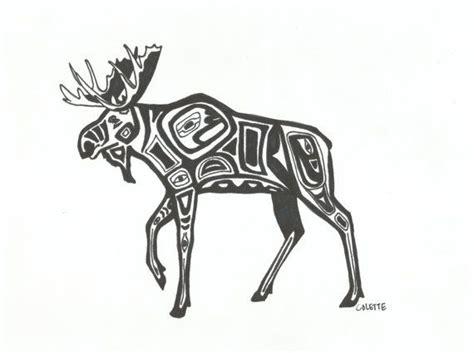 alaska designs best 25 moose ideas on alaskan tattoos