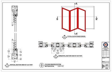 net section sliding door section detail saudireiki