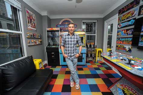 arcade bedroom man turns murray hill apartment into an arcade ny daily news