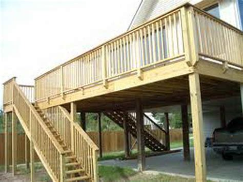 house decks designs split level house deck designs trend home design and decor