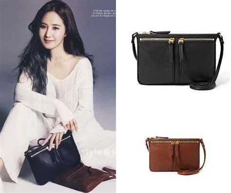 Yoona Satchel Small Black soshified styling yuri fossil
