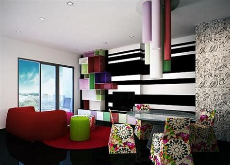 modern interior design ideas creating bright accents
