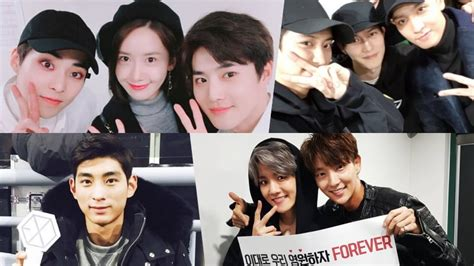 exo concert 2017 celebrities show support at exo s concert in seoul soompi