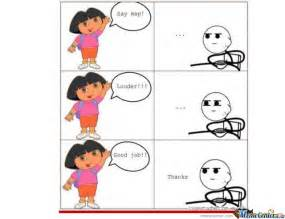 Dora The Explorer Meme - dora the explorer by hamza9 meme center