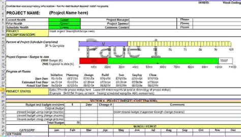 report template excel 3 project status report template excelreport template