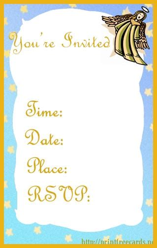 Free Printable Religious Card Templates by Baptism And Christening Invitations Baby