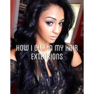 bellami hair extensions for black demo how i clip in bellami 20 quot jet black hair extensions